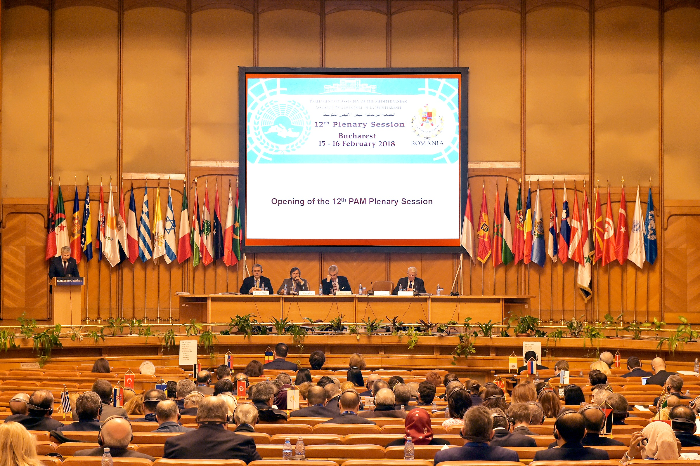 PAM 12th Plenary Session – Bucharest 15-16 February 2018 - 2nd Standing Committee